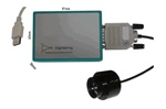 USB-controlled Optical Power Monitor 800-1550nm; 10mm
