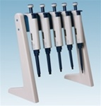 Linear Pipettor Stand, holds up to 6 pipettors