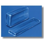 Borosilicate Glass Rectangle  Cells, 20.00 x 40.00 mm ID, 60 mm