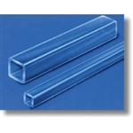 Borosilicate Square Tubing 2 feet long, 0.08 mm ID, 0.40 mm Wall