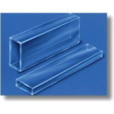 Borosilicate Rectangle Tubing 1 foot long, 7.00 x 14.00 mm ID, 1.20 mm Wall