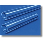 Round Clear Fused Quartz Glass Tubing