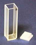 Quartz Cuvette - Path 10mm, 0.05ml vol, 2mm Beam