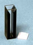 Quartz Cuvette - Path 10mm, 0.75ml, Beam Width 3 mm