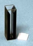 Quartz Cuvette - Path 10mm, 0.50ml, Beam Width 2 mm