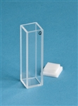 Quartz Cuvette - Path 10mm, 3.8ml, Beam Width 10 mm