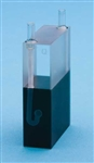 Quartz Cuvette - Path 30mm, 0.21ml, Beam Width 3mm dia.