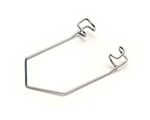 Wire Speculum 4cm long, 5 x 5mm blades