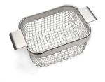 Mesh drain basket For ultrasonic cleaner