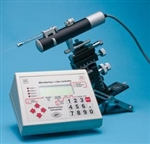 Three UltraMicroPump III (UMP3) with Micro 4 Controller Uses microsyringes to deliver picoliter volumes