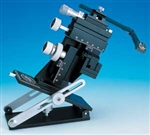 Manual Micromanipulator Left-handed version - includes tilting base