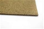 "Cork Gasket Plain Backed, 1/8"" Thick, 48"" Width, 25'L Sheeting"