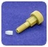 Coned Port Fittings - FITTING, NATURAL, 10-32