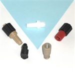 Adapters, Luer to Thread