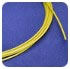 FEP Tubing - 10 ft, 4000 psig, Yellow, 0.007 in, 0.0625 in
