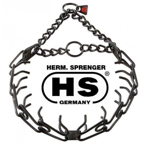 Herm Sprenger Pinchprong Collar 2 25 Mm 3 Extra Links Black