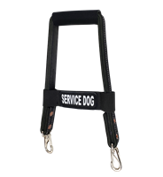 Active Dogs Reflective Snap-On Bridge Handle - SERVICE DOG