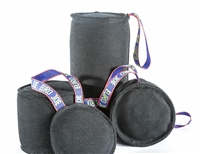 "Euro Joe Silly Dog Black Bite Roll Tug (Large/5.9"" Diameter)"