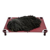 "4 Legs 4 Pets  40"" x 30"" x 5"" Elevated Dog Bed Cot"