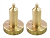 "Brass 3/4"" Contacts for Dogtra & E-collar"