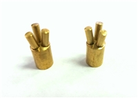 "Brass 3/4"" Tripod Contacts Garmin & Tritronics"