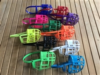 Full Grip Supply Basket Dog Muzzle Many Colors to Choose From!!! .**MEASURE YOUR DOG**