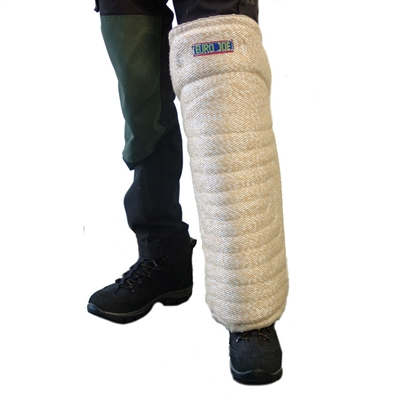 Euro Joe # 4 Leg Sleeve - Heavy Jute (Velcro)