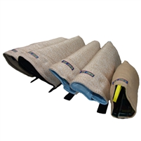 Euro Joe Jute Leg Sleeves Set with Velcro