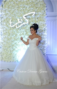 Shereen | Design Your Wedding Dress | Custom Dream Gowns