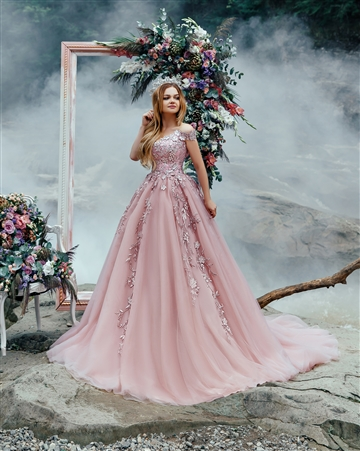 Jasmine 17121-1 | Custom Dream Gowns | Custom Wedding Dresses | Ball Gown Wedding Dresses | Princess Wedding Dresses | Crystal Beaded Wedding Dresses | Off Shoulder Wedding Dresses | Colorful Wedding Dresses | Lace Wedding Dresses | Dream Wedding Dress
