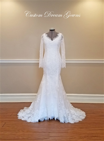 Custom Dream Gowns Flora | Wedding Dresses | Custom Wedding Dresses | USA Wedding Dresses | The Best Fitting Dresses | Bridal Gowns on Sale | Lace Wedding Dresses | Mermaid Wedding Dresses | Vintage Wedding Dresses | Long Sleeve Wedding Dresses