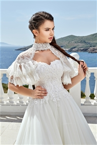 Style 1920 | Custom Dream Gowns | Wedding Dresses & Bridal Gowns | Custom Wedding Dresses | Princess Wedding Dresses | Wedding Dress with Bolero | Ball Gown Wedding Dresses | 2019 Wedding Dresses | Lace Wedding Dresses | Beaded Ball Gowns | Vintage Dress