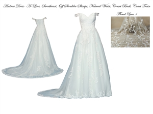 Andrea Wedding Dress | Design Your Wedding Dress | Custom Dream Gowns