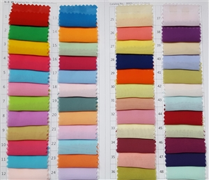 Chiffon Fabric Swatch