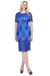 Wholesale Clothing Women's Floral Design Crochet Lace Dress -CC-2616-A