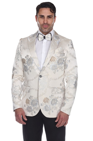 Wholesale Clothing Men's Blazer Jacket Print Design -JRM-1011-A