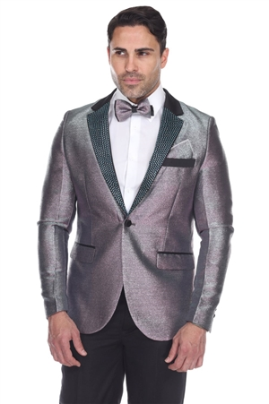 Wholesale Clothing Iridescent Design Men's Blazer Jacket -JRM-1012-A