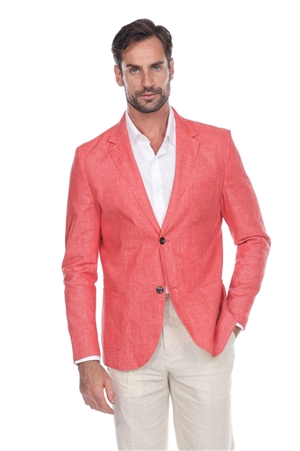 Wholesale Clothing Men's Casual Premium Linen Blazer Jacket -JRM-1017-A