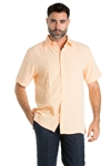 Wholesale Clothing Casual Shirt with Multi Pintuck Short Sleeve and Button Down -M-1823-A