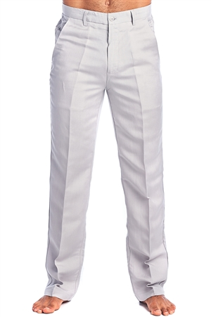 Men's Resort Lounge Casual Linen Flat front Dress Pants