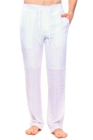 Wholesale Clothing Men's Resort Lounge Casual Drawstring Pants -M-5208-B