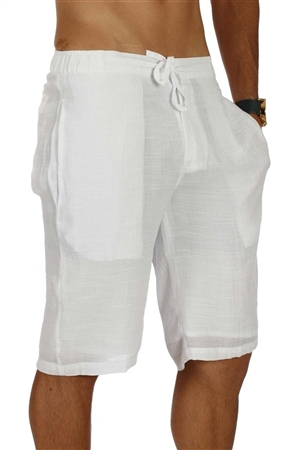 Wholesale Clothing Men's Beachwear Casual Drawstring Shorts -M-5235-B