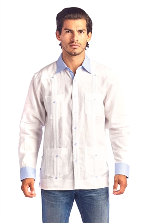 Mojito Collection Cuban Style Wholesale Guayabera Shirt
