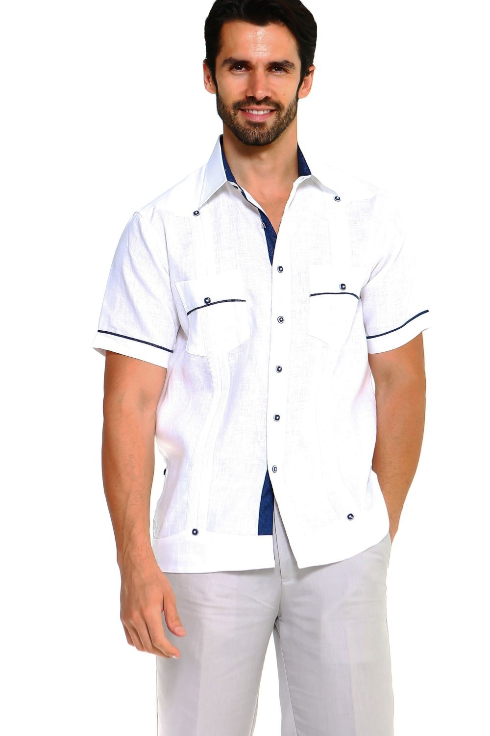 ea36e908ee 100 Linen Guayabera Shirts – EDGE Engineering and Consulting Limited