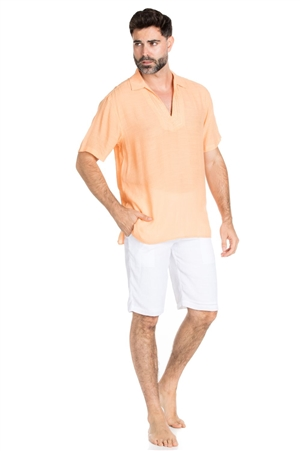 Wholesale Clothing Men's Casual Resort Beachwear Shirt -M-5319-C