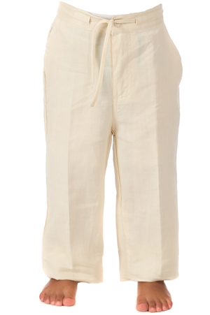 Boys Linen Dress Pants