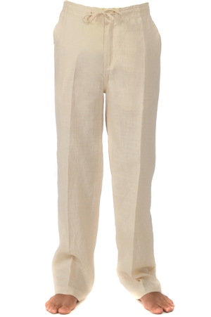 Junior Boys Linen Dress Pants