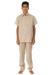 Wholesale Young Men's Linen Set by MOJITO
