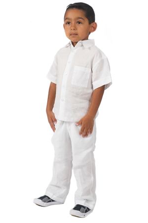 Wholesale Toddler Boy's Linen Set By MOJITO