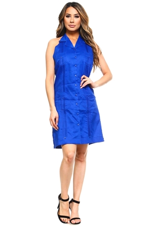 Guayabera Dress